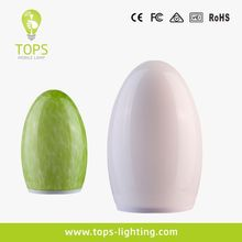2014 hotel outdoor egg shape solar led garden replacement lamp