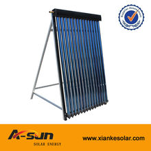 popular evacuated tube solar thermal collector with heat pipe for water heating
