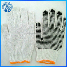 PVC Dotted White Hand Cotton Gloves Working Gloves Safety Gloves