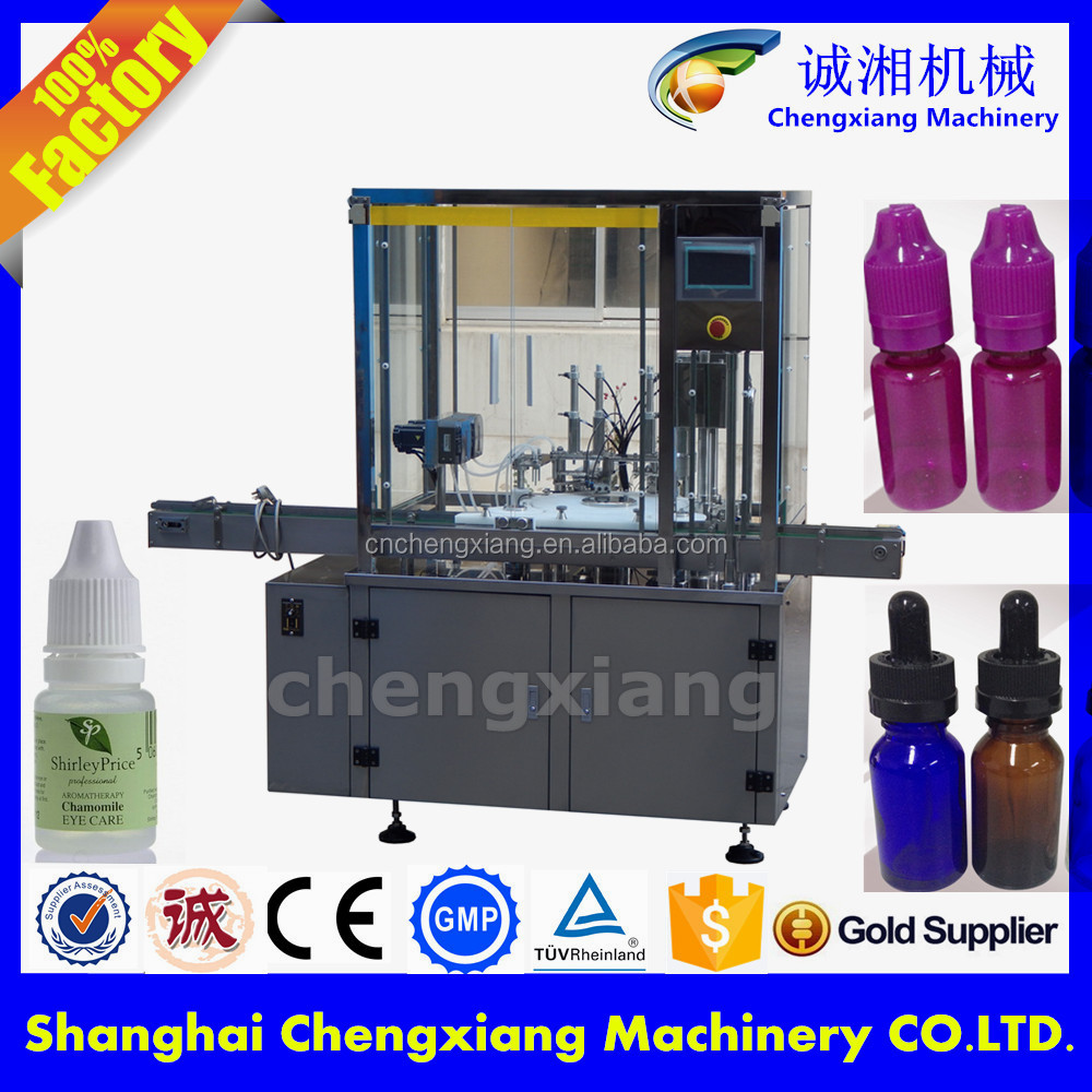 Easy operation e cig oil filler price,e liquid filling production line