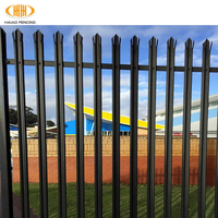 easily assembled steel palisade fencing prices,powder steel palisade fencing prices,heat treated palisade fencing prices