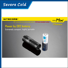 Nitecore SENS Mini Active Dimming Technology to Automatic Power Saving Use CR2 Battery LED Flashlight Keychain Flashlight Torch