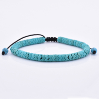 Men Stone Natural Bead Wholesale Jewelry Beaded Turquoise Bracelet