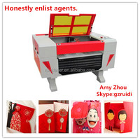 Guangzhou Ruidi Provide Cheap Christmas Cards Laser Cutting Machine With 60w Tube Power