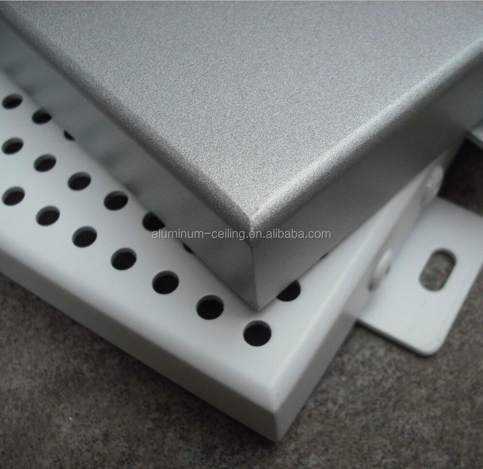 OEM design aluminum single wall panel curved metal cladding wall sheet