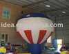 Inflatable balloons, cold air balloons, rooftop, American patriotic balloon