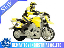 1:43 stunt remote control motorcycle mini toy car for kids