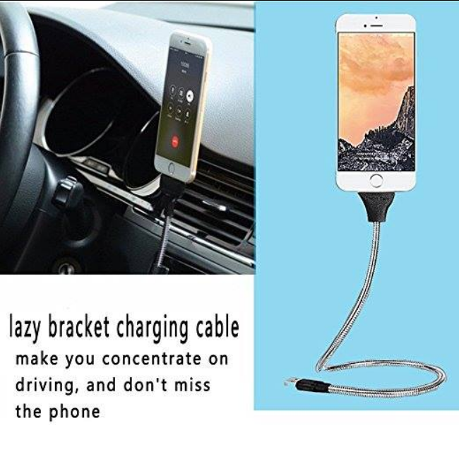 2017 factory new arrival hot selling Flexible Stand Up USB Data Charge Cable