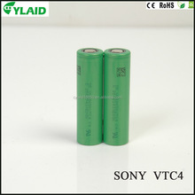 automotive battery authentic VTC4 2100mAh 18650 30A li ion rechargeable battery for electric bike