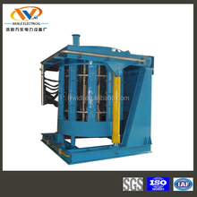 ISO9001 5 ton steel scrap melting induction electric furnace