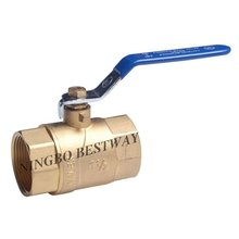2pc brass floating ball valve