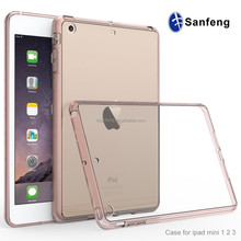 Factory Price TPU Frame Case For Ipadmini Back Covers