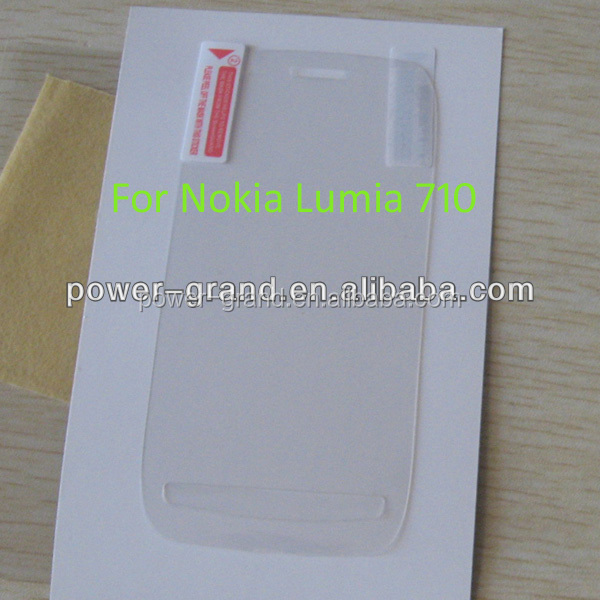 Anti-scratch Screen protector for Nokia Lumia 710, Paypal also accepted