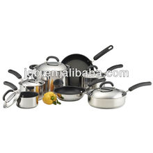 12pcs 18 8 stainless steel cookware
