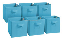Non-woven home storage boxes ,storage bins in set of 6