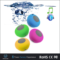 Original design waterproof mini bluetooth speaker with suction cup