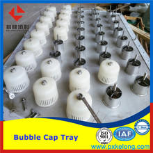PVDF Metal Bubble Cap Tray
