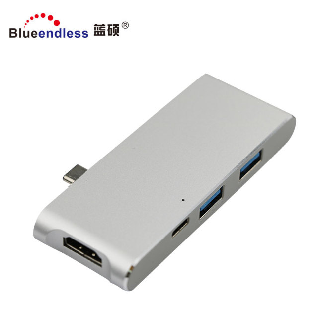 HUB for Macbook with USB3.0 A port Type C PD port HD MI TF SD card Type-C HUB
