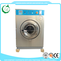 Good quality industrial laundry washing machine coin operated