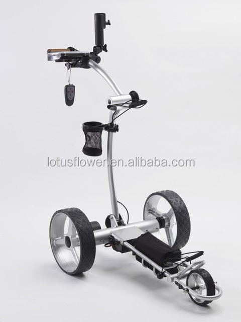 Folding Digital Electric Golf Trolley Caddy Cart