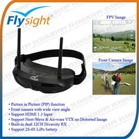 D401 Flysight 5.8GHz Dual Diversity Goggles SpeXman One for Race Quadcopter Alpha 250Q HoTT