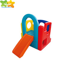 Hot sale small play house toy plastic baby slide for fun