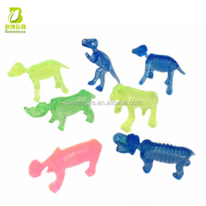Soft plastic dinosaurs mini figurine 7 models gift toys for kids plastic gifts