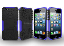 mobile accessory For iphone 5 5S new tyre style heavy duty shock proof phone case