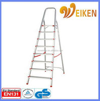 WK-AL208 8 steps domestic price aluminum foldable portable aluminum stretcher stairs