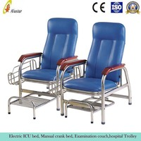 ALS-C10 Family waiting used hospital steel chair medical