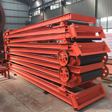 Width 350mm to 1200mm Rubber Used Belt Conveyor For Sale