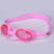 Anti uv durable unisex colorful printing silicone swimming goggles