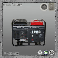60Hz 110v 110v 120v 127v 220v 230v 10kw AC Single Phase Output Type Kohler gas gasoline generator