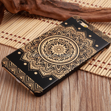 China Manufacturer Black Bamboo Phone Case for iphone5,laser engraving cover for iphone 6,skull head design for iphone