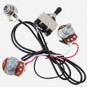 Equipment wiring harness toggle switch cable for guitar