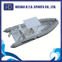 2015 Rib Sport Speed Inflatable Boat with Factory Price