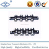 ISO standard pitch 25.40 outboard roller steel double pitch chain C2040SR