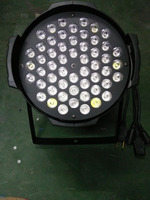 Quality assurance 54pcsx3w LED outdoor Par Light RGBW 3in1 full color par for stage