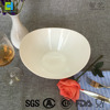 New product modern European design opal dinner set glass bowl salad bowl