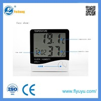 gifts digital thermo hygrometer with CE certificate