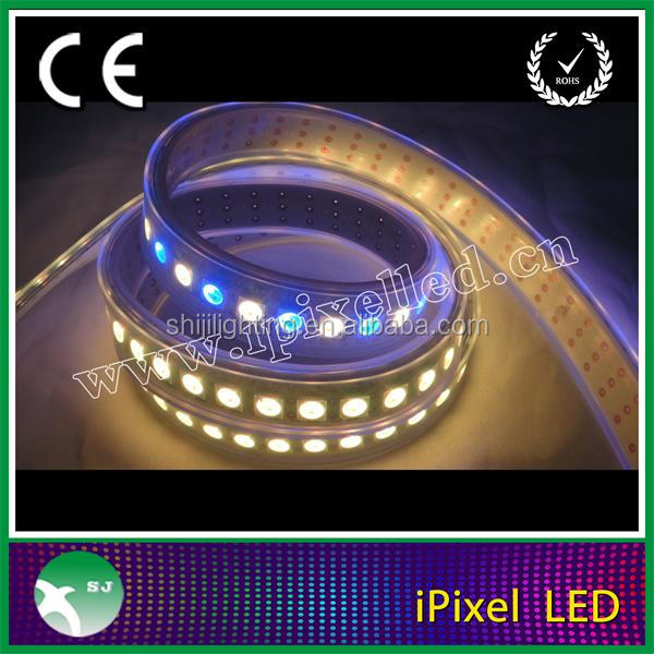 60LED/m RGB LED Strip white WS2812B 5050 SMD LEDs /WS2811 Controller WS2812 IP 67/68