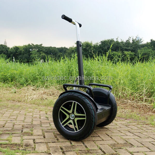two wheel self-balancing electric scooter