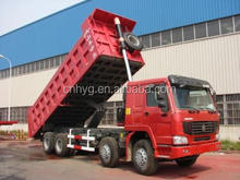 color painted tipper truck made in China