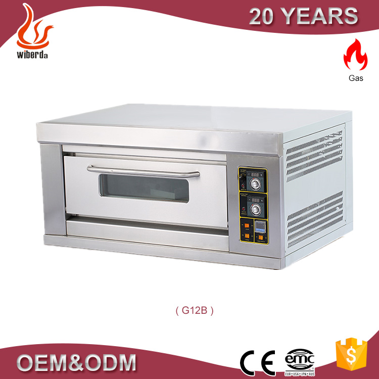 Industrial bread baking professional bakery diesel rotary oven