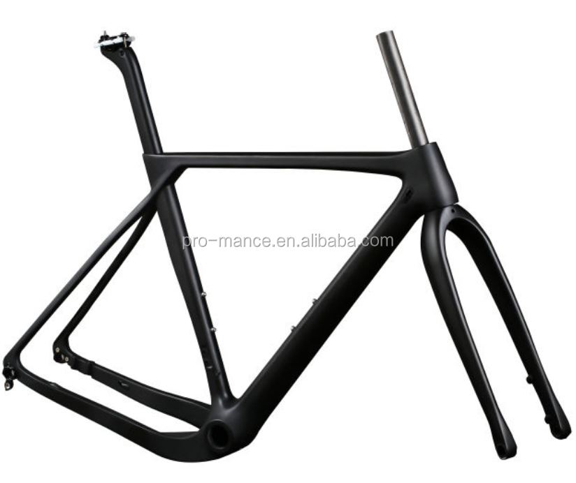 unpainted t1000 carbon road bike frame