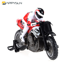 2016 Kid Best 2.4G Mini Rc Motocycle With Single Wheel Vertical Travel