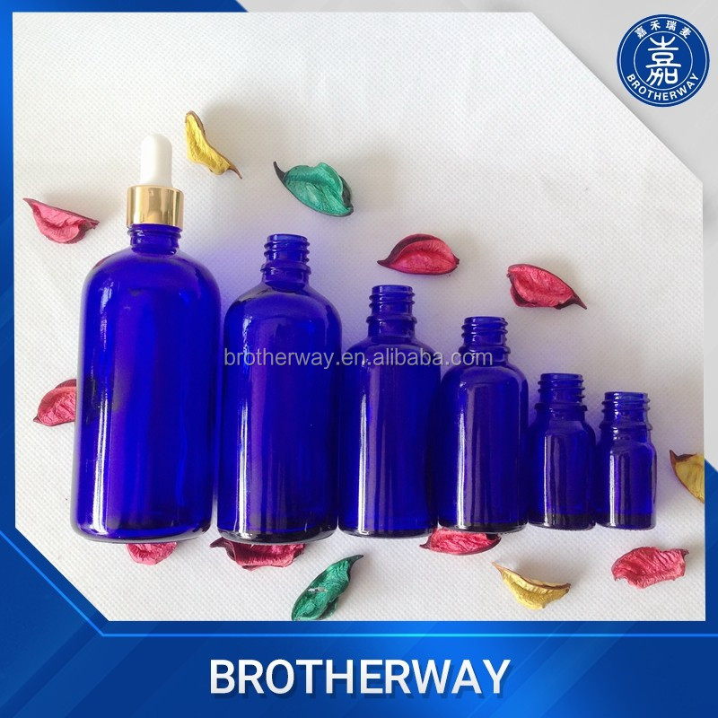 Wholesale 20ml 30ml 50ml painted matte black glass dropper bottle with child proof dropper cap