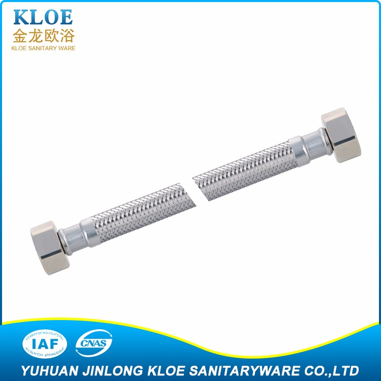 "Customized Design China manufacturer excellent material 3/4"",1"" braided stainless steel hose"