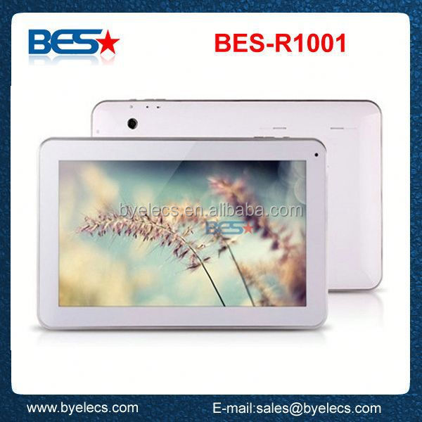 best cheap high quality G sensor no name retina 10.1 inch rk3188 tablet pc