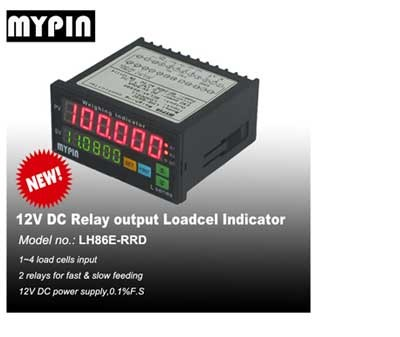 Mypin 6 digits 24V DC weight load cell controller(LH86E-RRD)
